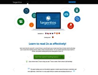 legentas.com screenshot