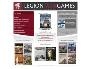 legionwargames.com screenshot