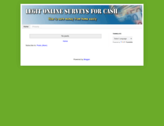 legit-onlinesurveysforcash.blogspot.com screenshot