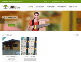 legnosrl.com screenshot