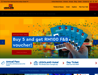legoland.com.my screenshot