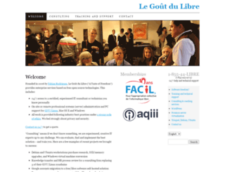 legoutdulibre.com screenshot