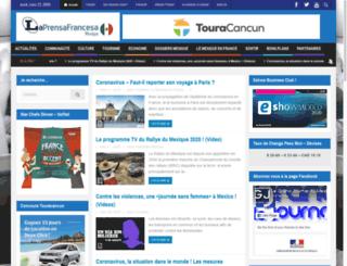 legrandjournal.com.mx screenshot