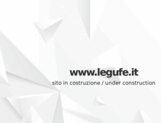 legufe.it screenshot