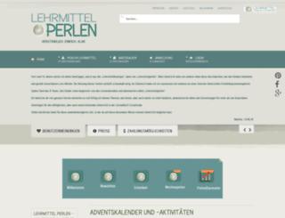 lehrmittelperlen.net screenshot