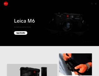 leica-camera.it screenshot