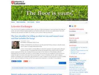 leicesterexchanges.com screenshot