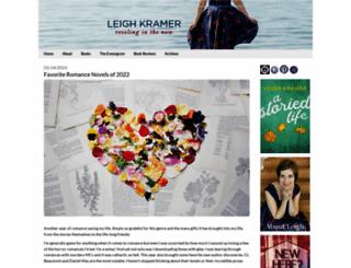 leighkramer.com screenshot