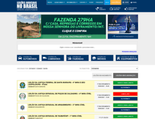 leiloesjudiciais.com.br screenshot