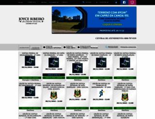 leiloesjudiciaisrs.com.br screenshot