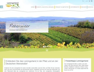 leininger-land.com screenshot