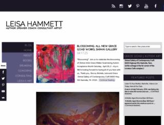 leisahammett.com screenshot