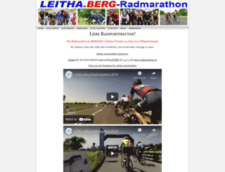 leithaberg-radmarathon.at screenshot