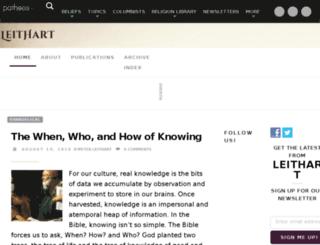 leithart.com screenshot