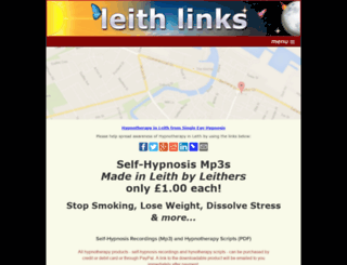 leithlinks.co.uk screenshot