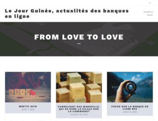 lejourguinee.com screenshot