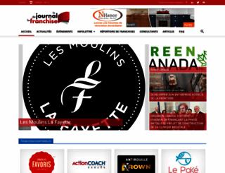 lejournaldelafranchise.com screenshot