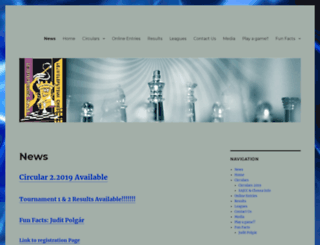 lejwechess.co.za screenshot