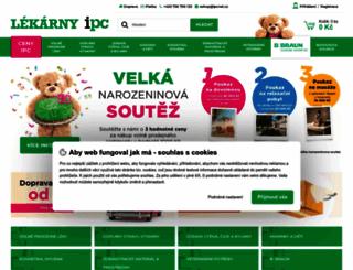 lekarny-ipc.cz screenshot