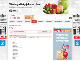 leky.vitalion.cz screenshot