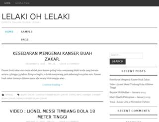 lelakiohlelaki.com screenshot