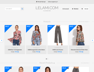 lelami.com screenshot