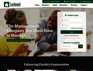 lelandmanagement.com screenshot