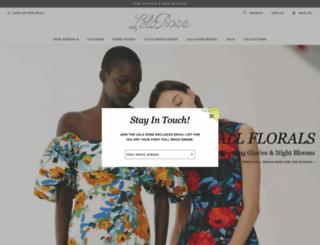 lelarose.com screenshot