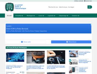 lelectronique.com screenshot