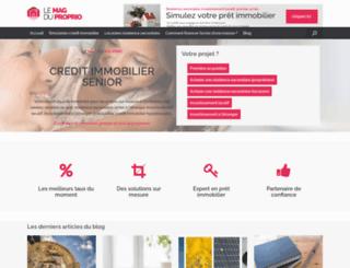 lemagduproprio.fr screenshot