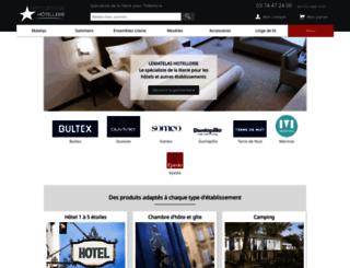 lematelas-hotellerie.com screenshot