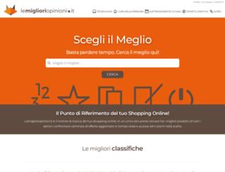 lemiglioriopinioni.it screenshot