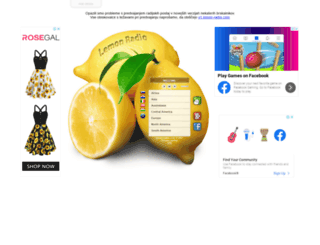 lemon-radio.com screenshot