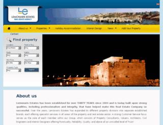 lemonaris-estates.com screenshot