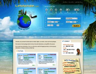 lemonde.com screenshot