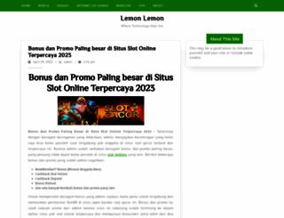 lemonlemon.co screenshot