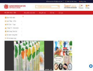 lemonshop.com.vn screenshot
