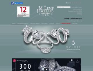 lempjewelers.com screenshot
