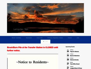 lempsternh.org screenshot