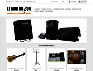 lemurduson-shop.com screenshot
