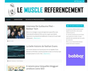 lemusclereferencement.com screenshot