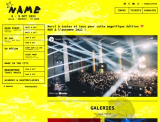 lenamefestival.com screenshot