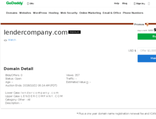 lendercompany.com screenshot