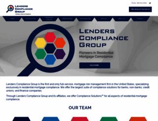 lenderscompliancegroup.com screenshot