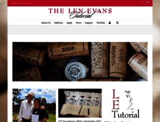 lenevanstutorial.com.au screenshot