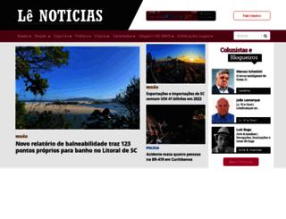 lenoticias.com.br screenshot