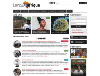 lenouvelafrique.net screenshot