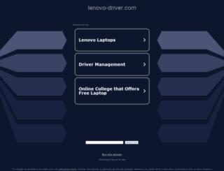 lenovo-driver.com screenshot