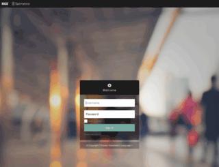 lenovo.satmetrix.com screenshot