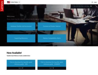 lenovosolutionscentre.com screenshot